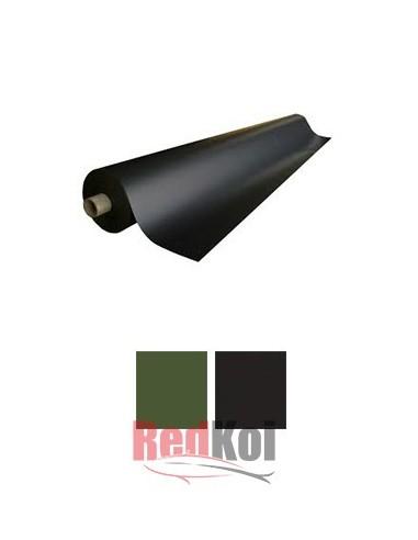 Rollo lámina PVC  1,5mm 2 x 25m Verde o negro