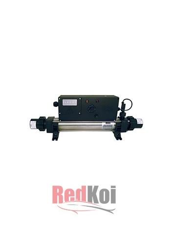 Calentador en linea elecro analogo inox 2KW