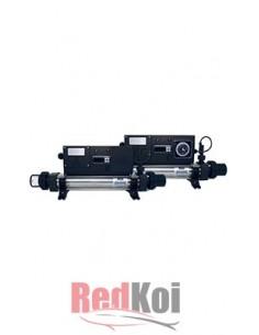 Calentador en linea elecro digital inox 2KW+reloj