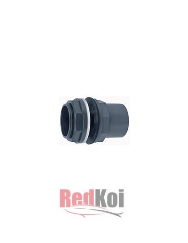 Conector tanque PVC 50mm