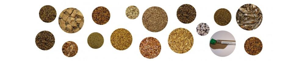 Alimentos naturales - liofilizados